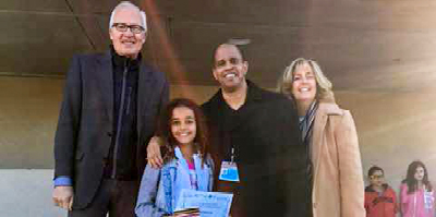 Michael Schlesinger, Ava Francis, Jay Francis and Diane Saunders